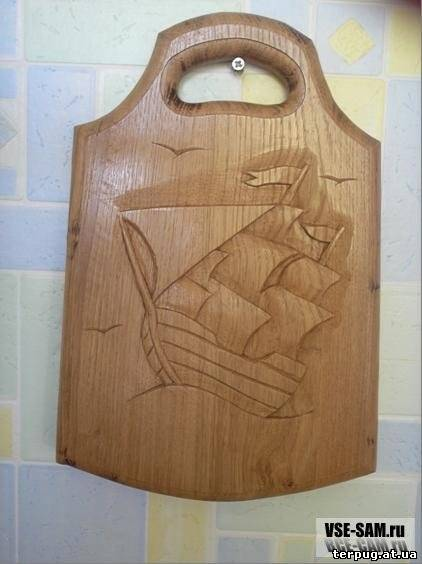 Сделать разделочную доску своими руками из дерева