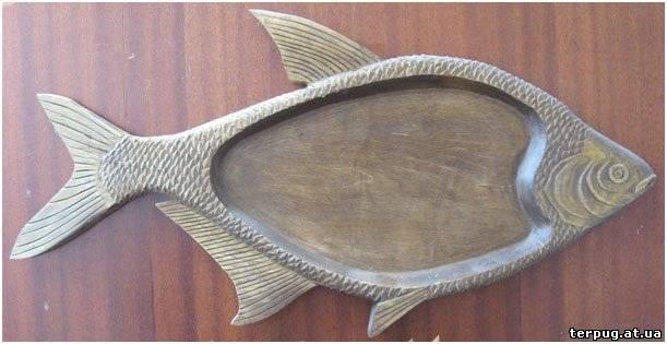 Рыба из дерева своими руками