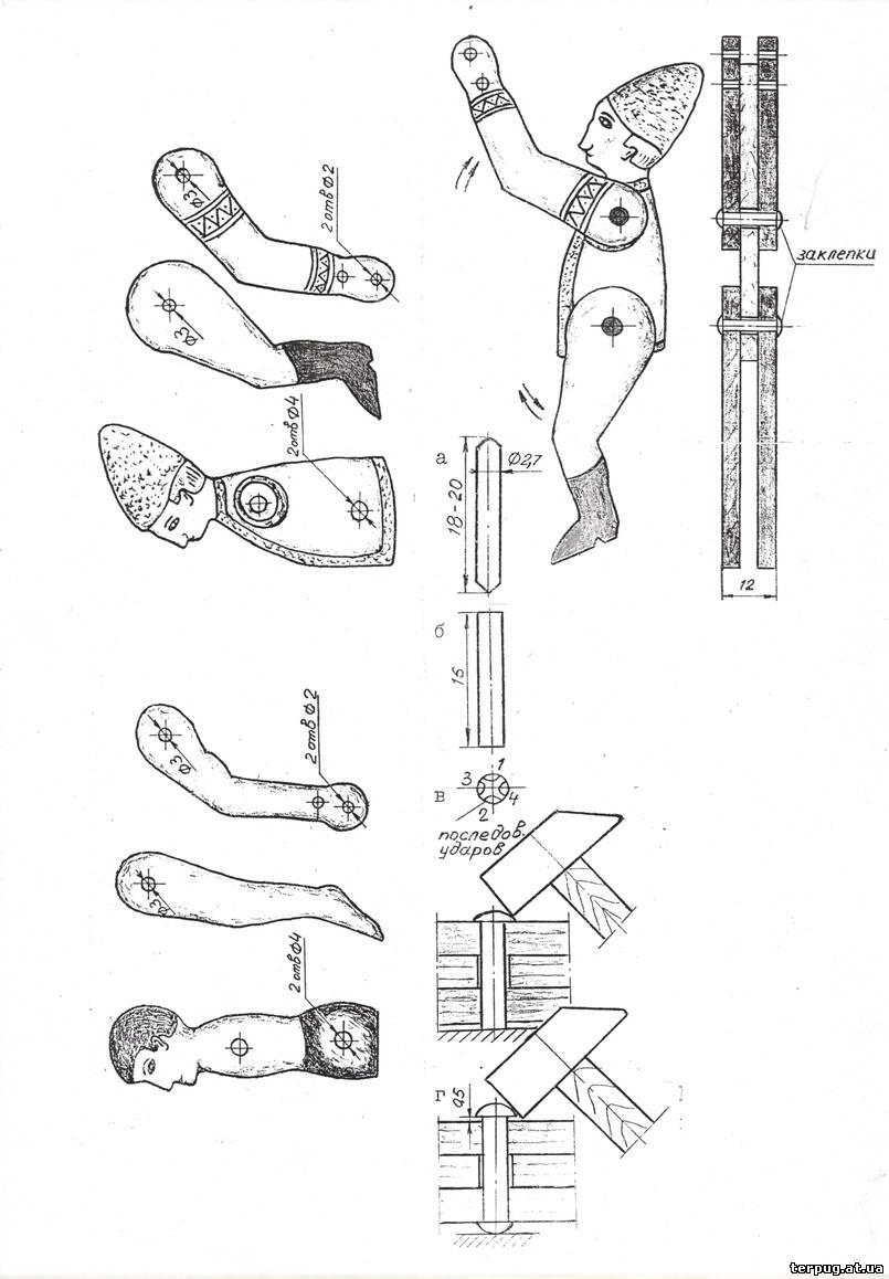 Механические игрушки своими руками чертежи 178